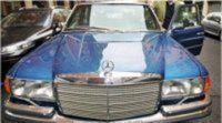 El primer coche blindado del Rey se subasta por 25.000 euros