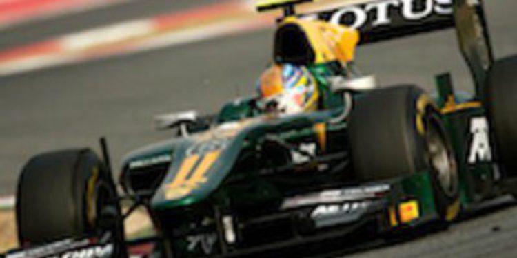 Alexander Rossi continúa en las World Series con Arden Caterham en 2012