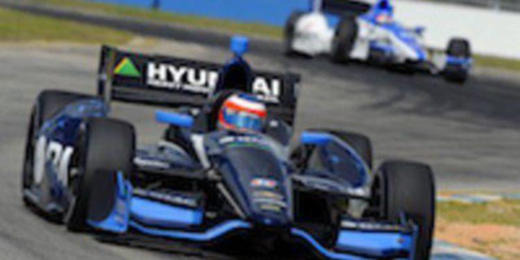 Rubens Barrichello repite tercer puesto en los test de IndyCar