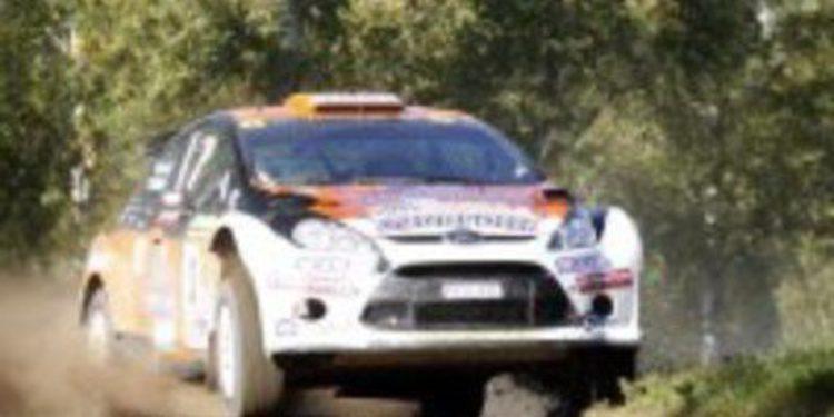 Pontus Tidemand se une al reto de la WRC Academy