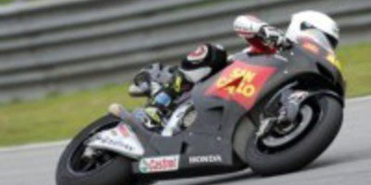 Álvaro Bautista a por todas con el equipo Honda Gresini