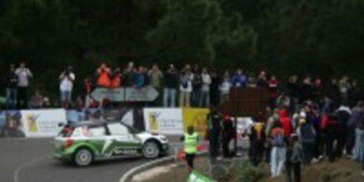 Jan Kopecky gana en Canarias por el motor de Mikkelsen