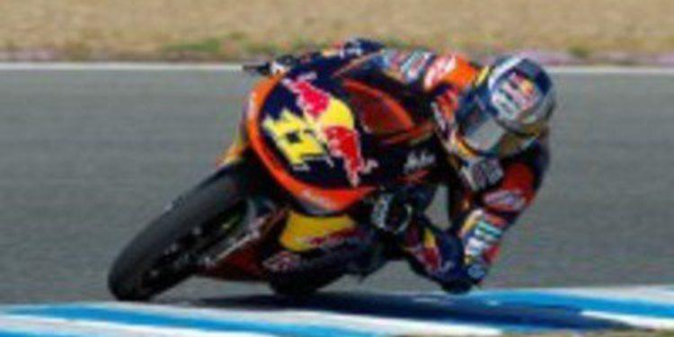 Romano Fenati estrena los test en Jerez de Moto3 con el mejor tiempo