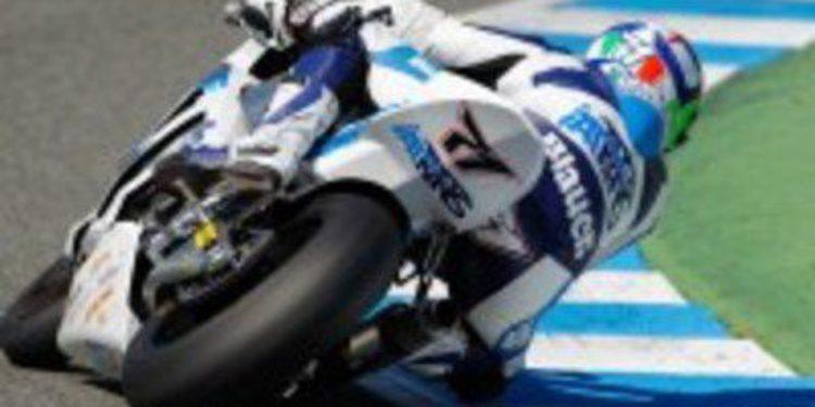 Thomas Luthi enganchado al liderar los test de Moto2