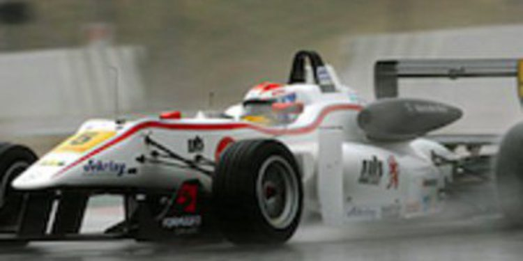 Félix Rosenqvist muestra su candidatura firme en las F3 Euroseries de 2012