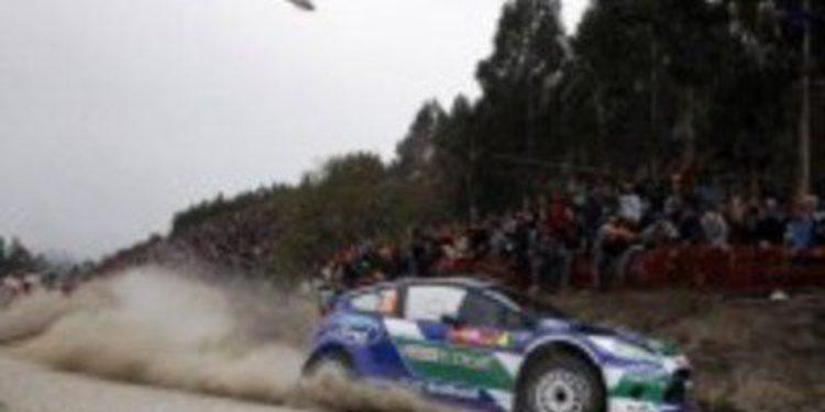 Petter Solberg se lleva la victoria en Fafe-Lameirinha