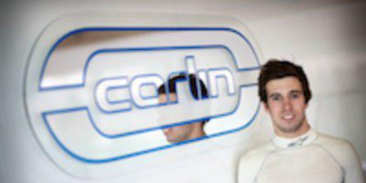 Antonio Félix da Costa con Carlin en GP3 para 2012