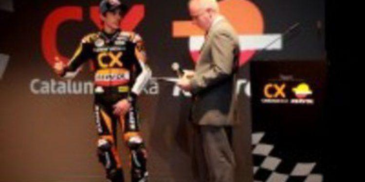 Marc Márquez presenta su proyecto para la temporada 2012 de Moto2