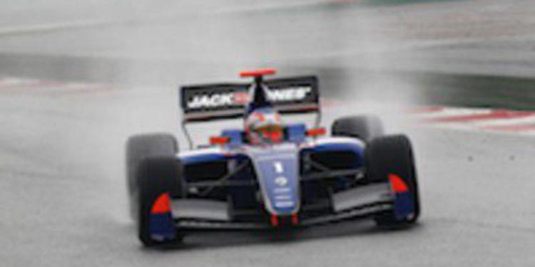 Kevin Magnussen domina los test de Fórmula Renault 3.5 con condiciones cambiantes en Barcelona