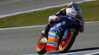 Maverick Viñales pega primero en los libres de Moto 3 en Qatar