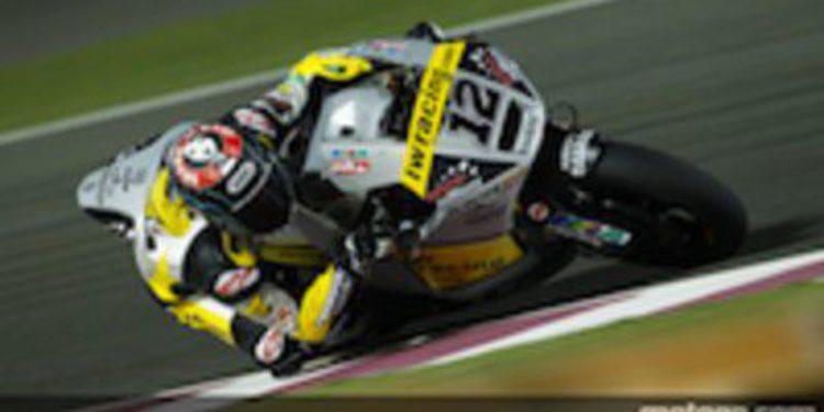 Thomas Luthi también domina en los segundos libres de Qatar en Moto2