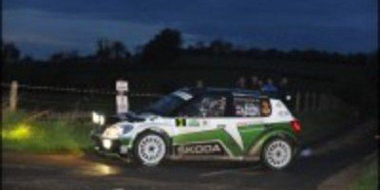 Juho Hänninen lidera tras acabar la primera etapa del Rallie de Irlanda