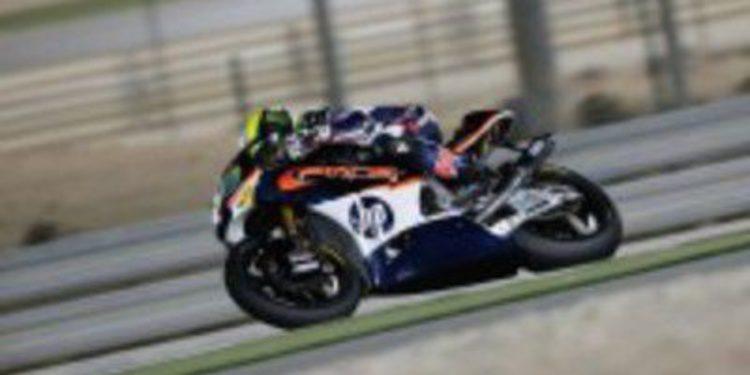 Thomas Luthi es el poleman de Moto2 por delante de Márquez