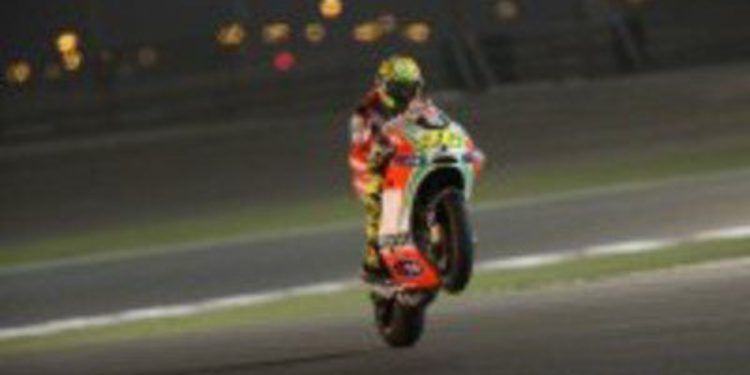 Valentino Rossi explota contra el pobre rendimiento de Ducati