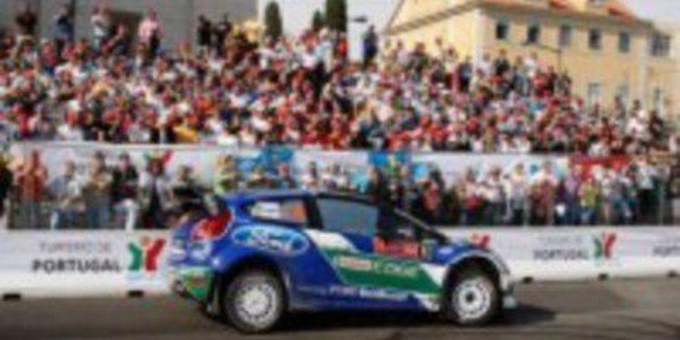 El equipo Ford está encantado con el rendimiento de Petter Solberg