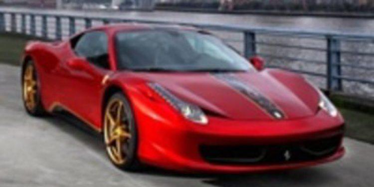 Ferrari edita un 458 Italia exclusivo para China