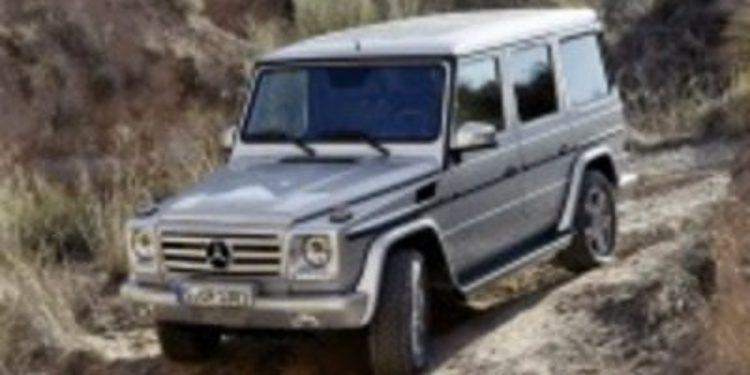 Así es la nueva imagen del Mercedes Benz clase G