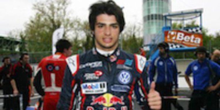 Reparto de poles entre Carlos Sainz Jr y Félix Serralles para Monza en F3 Británica