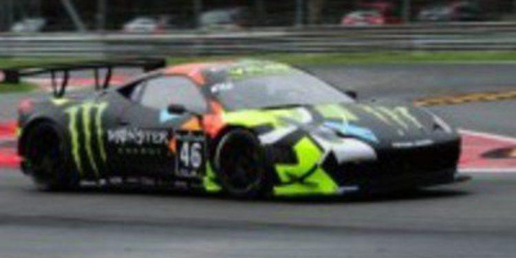 Valentino Rossi termina en la posición 18ª en la Blacpain Endurance Series