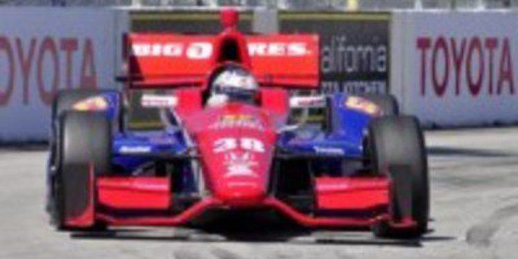 Graham Rahal arrastra seis carreras de la IndyCar bajo vigilancia