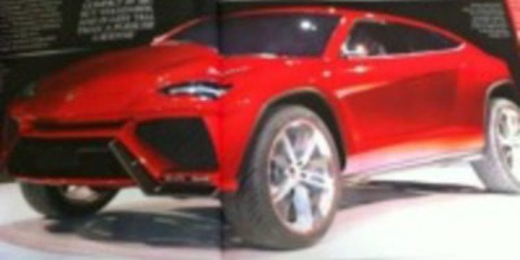 Así es el nuevo Lamborghini
