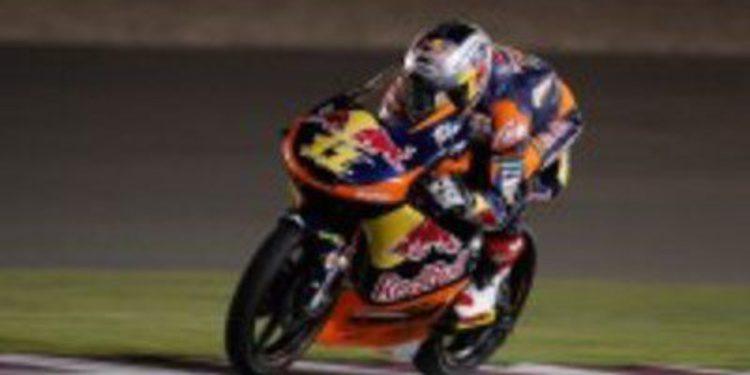 Sandro Cortese quiere un nuevo podio de Moto3 en Jerez