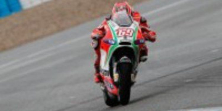 El test de Ducati en Mugello finaliza con más lluvia