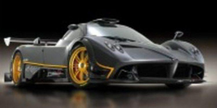 Lewis Hamilton y su Zonda 760 LH