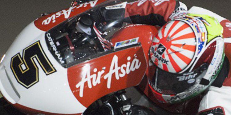 Zarco y Caterham mandan en los FP1 de Moto2 en Austin