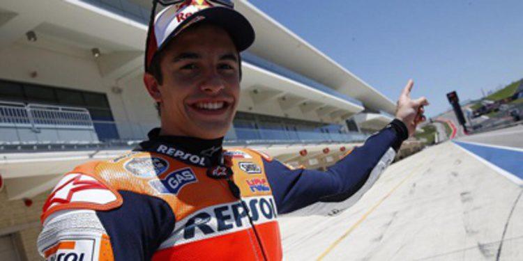 Marc Márquez desmoraliza al resto de MotoGP en Austin