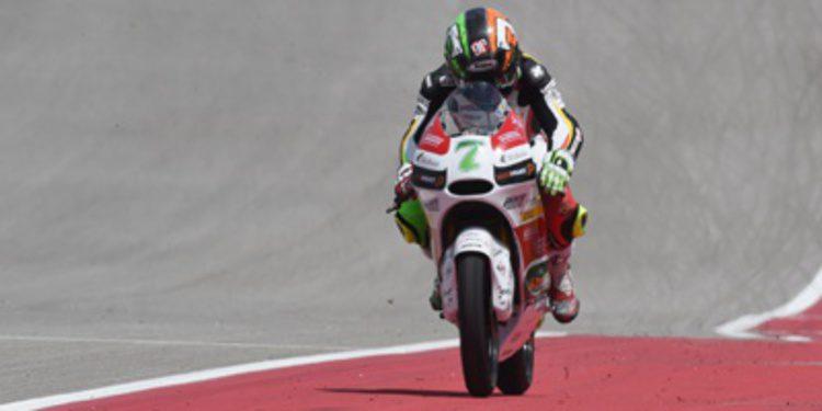 Efrén Vázquez no se relaja en los FP3 de Moto3 en Texas