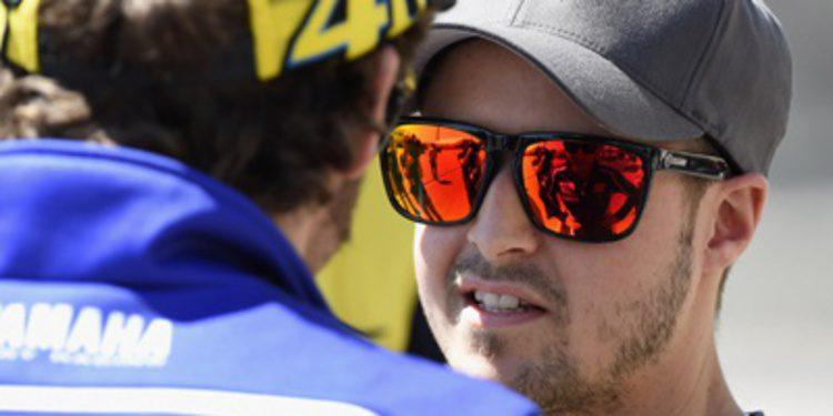 Thomas Lüthi se muestra en los FP3 de Moto2 en el COTA