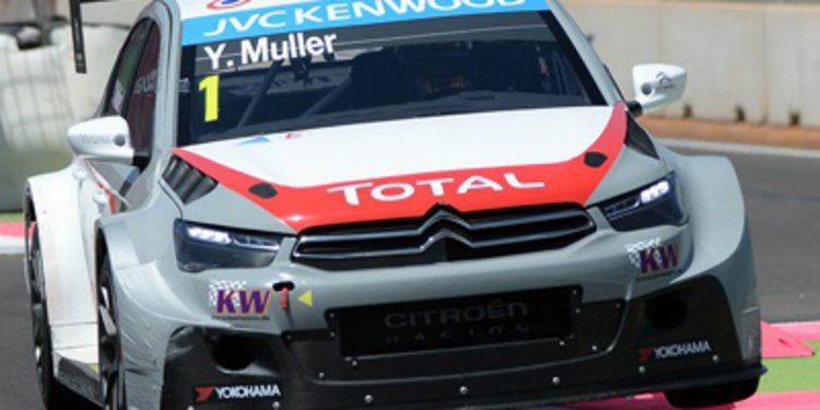 Yvan Muller penalizado tras la Q3