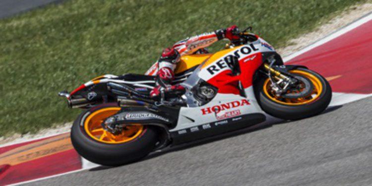 Marc Márquez pole de MotoGP en Austin con récord