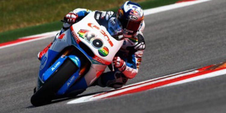 Maverick Viñales se doctora en Moto2 con victoria en Austin