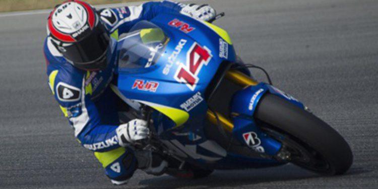 Suzuki MotoGP de test en Austin pensando en 'Factory'