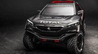 Este es el Peugeot 2008 DKR que estará en el Dakar 2015