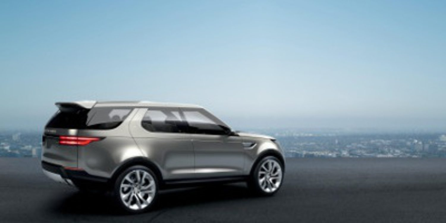 Nuevo Land Rover Discovery Vision Concept