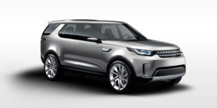 Fotos y vídeos del Land Rover Discovery Vision Concept