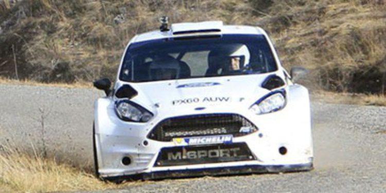 El restyling del Ford Fiesta RS WRC en Finlandia