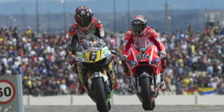 Movistar patrocinador del GP de Aragón de MotoGP