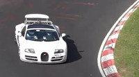 Cazada supuesta mula del nuevo Bugatti Veyron