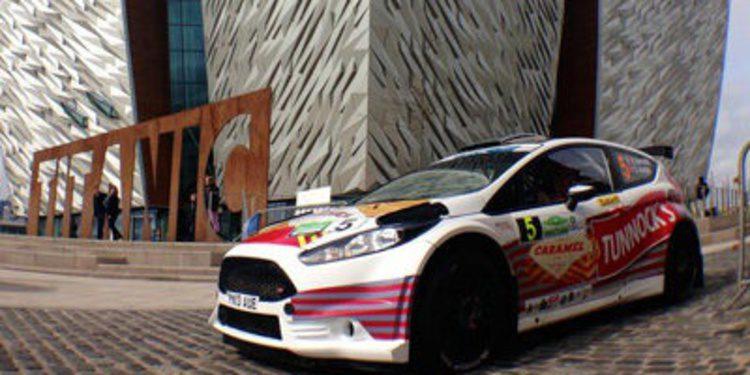 Robert Barrable lidera el QS del Rally de Irlanda del ERC