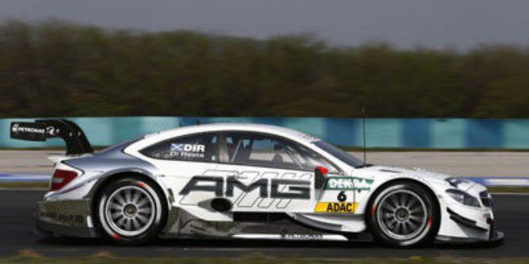 Robert Wickens se anota el último día de test DTM en Hockenheim