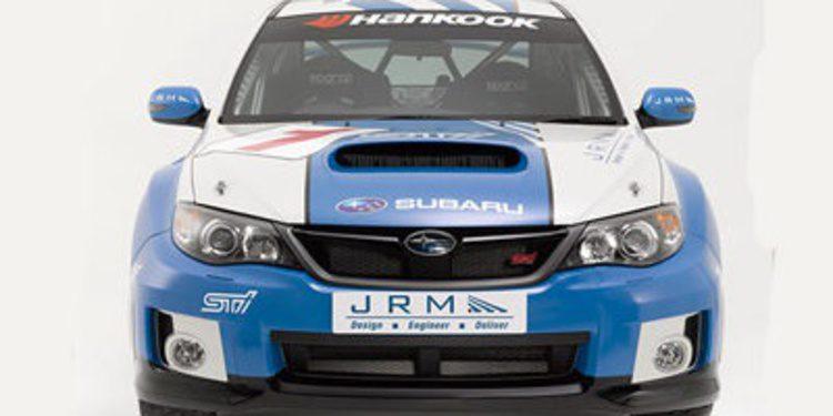 Mark Higgins con el Subaru WRX STi de JMR en el ERC