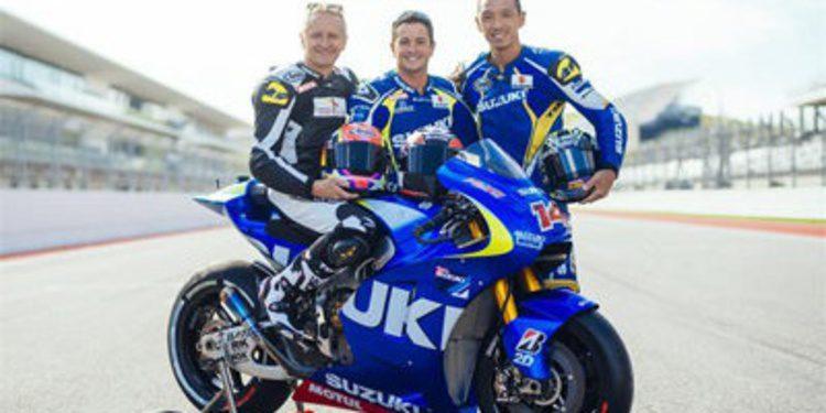 Suzuki MotoGP cierra con más trabajo el test en Austin