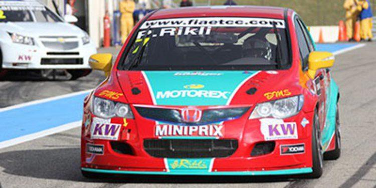 Campos Racing domina el primer día de test del ETCC
