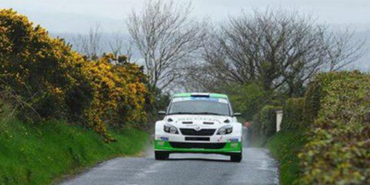 Lección de Esapekka Lappi en el Circuit of Ireland del ERC