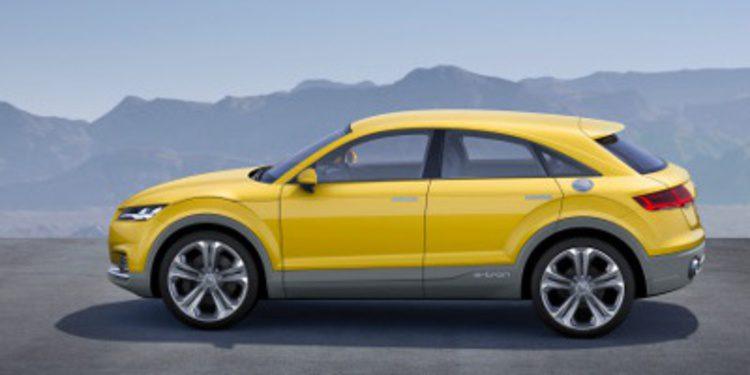 Impactante nuevo Audi TT Offroad concept