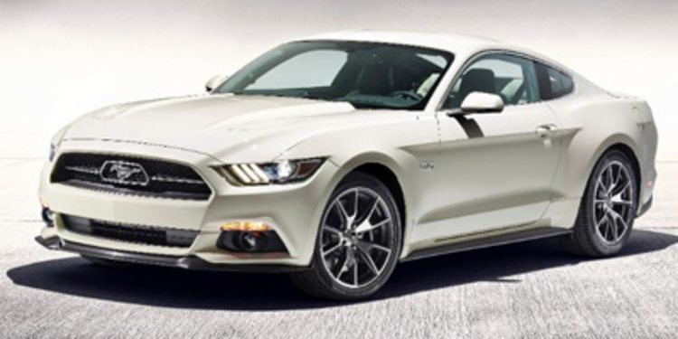 Celebración con el Ford Mustang 50 Year Limited Edition